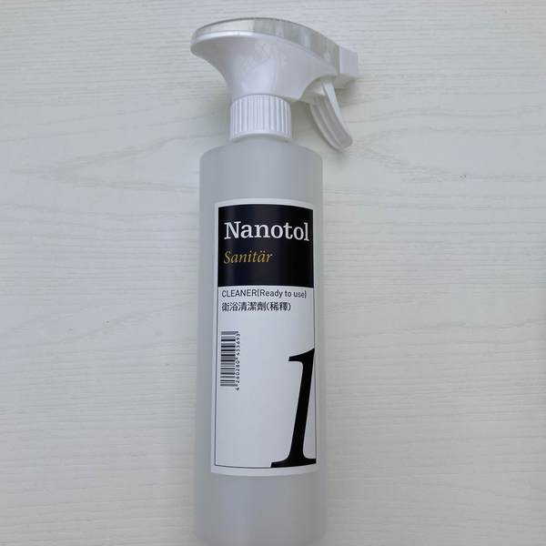 Nanotol 水垢清潔劑泡沫噴罐空瓶500ml