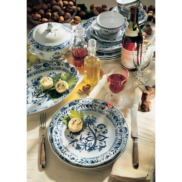 德國 Kahla Rossella 湯盤+主餐盤 (單人份)  德國 Kahla Rossella 餐盤23.5公分+深盤22公分