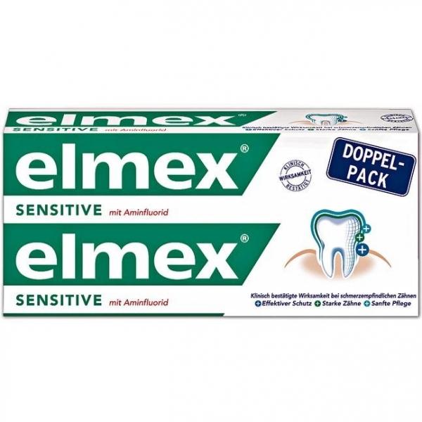 Elmex 敏感型牙膏 雙條組 製造日期2018.10月 【優惠價不提供刷卡】  Elmex 敏感型牙膏
