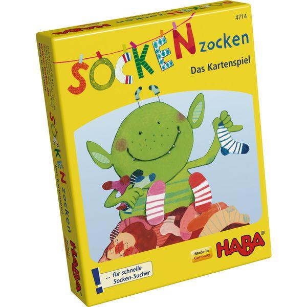 德國版 HABA  4714  SOCKEN zocken 怪獸襪 德國 HABA 4714  SOCKEN zocken 怪獸襪