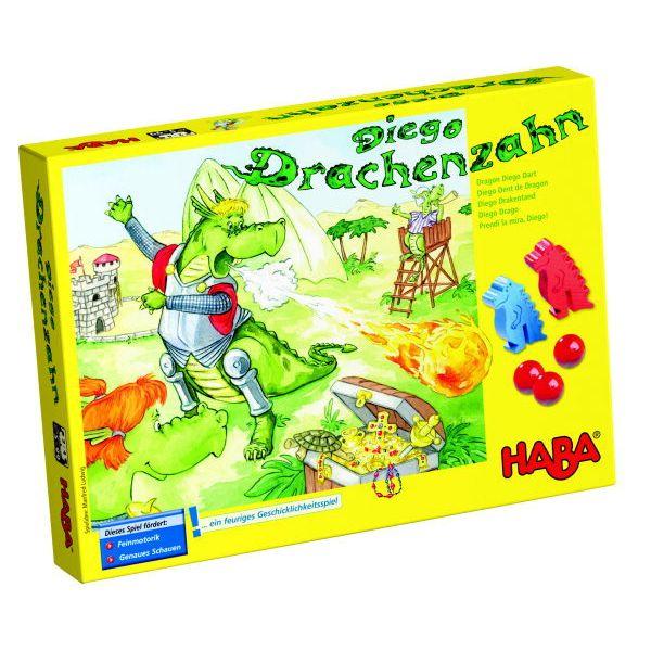 德國 HABA 4319 Diego Drachenzahn 恐龍彈珠檯  德國 HABA 4319 恐龍彈珠檯
