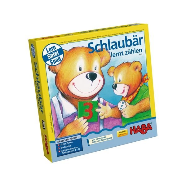 HABA 4547 小熊學數數 德國 HABA 4547 小熊學數數