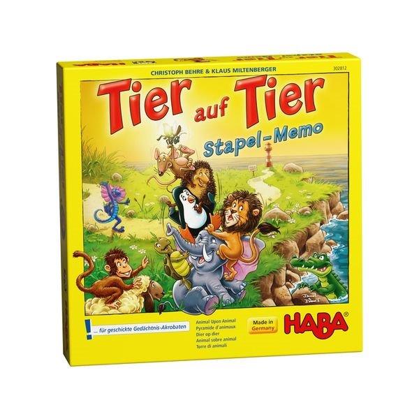 德國 HABA 302812 Tier auf Tier 動物疊疊樂 HABA 302812 Tier auf Tier 動物疊疊樂
