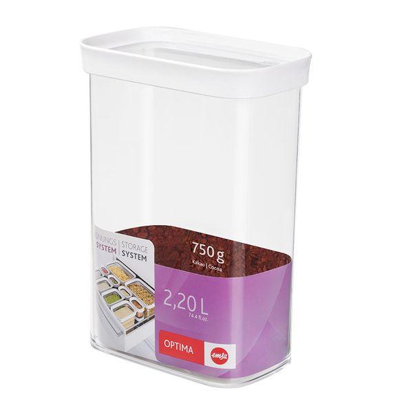 Emsa Optima 儲存盒 2.2L 【優惠價不提供刷卡】  Emsa Optima 儲存盒 保鮮盒