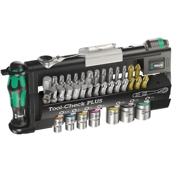 德國版 Wera Tool-Check Plus 板手起子套筒 39 件組
