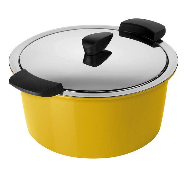 Kuhn Rikon hotpan 2L 休閒鍋 芥末黃 【優惠價不提供刷卡】  Kuhn Rikon hotpan 休閒鍋