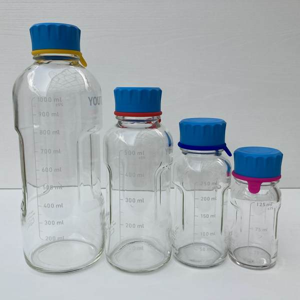 DURAN Youtility 優惠組合 窄口玻璃瓶 250ML/500ML/1000ML 德國 DURAN Youtility 血清瓶