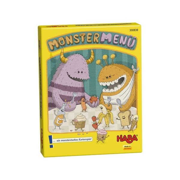 德國 HABA 300838 Monstermenu 怪獸菜單  HABA 300838 Monstermenu 怪獸菜單