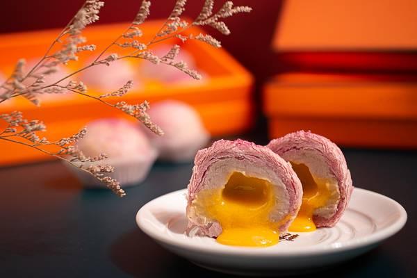 流心芋頭酥 芋頭酥,芋泥酥,流心,爆漿,中秋禮盒,台北伴手禮,漢餅冠軍,法蘭司