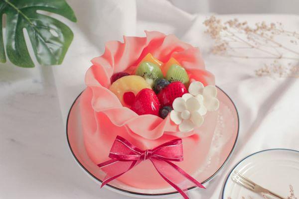 粉紅巧袋 - 芋泥蛋糕 巧克力蛋糕,芋泥蛋糕,母親節蛋糕,台北母親節蛋糕推薦,法蘭司烘焙,母親節蛋糕優惠