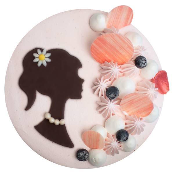 最美側臉 香草蛋糕,戚風蛋糕,草莓慕斯,生日蛋糕,法蘭司,台北,女生蛋糕,母親節蛋糕