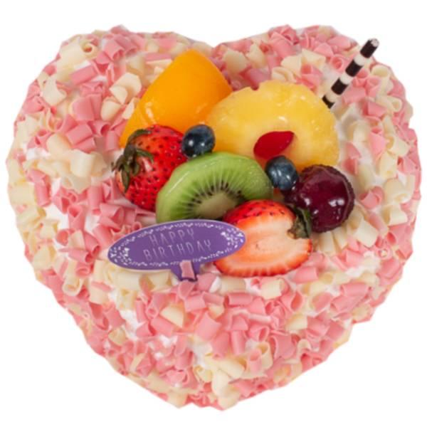 繽紛愛心 香草蛋糕,戚風蛋糕,水果蛋糕,法蘭司,心形蛋糕,愛心蛋糕,台北,生日蛋糕