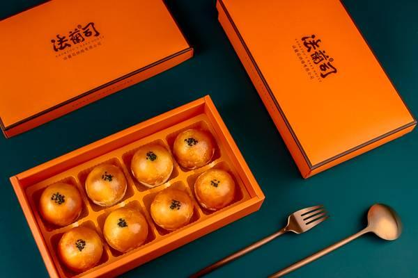 蛋黃酥 - 8入 蛋黃酥,蓮蓉蛋黃酥,烏豆沙蛋黃酥,棗泥蛋黃酥,法蘭司,蛋黃酥推薦,人氣蛋黃酥,中秋節禮盒