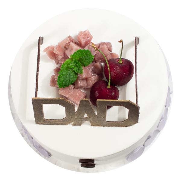金牌老爸 父親節蛋糕,金牌老爸,法蘭司,法蘭司烘焙,台北,父親節,芋泥香草蛋糕