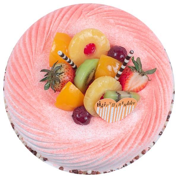 夏日饗宴 香草蛋糕,戚風蛋糕,生日蛋糕,台北,法蘭司,水果蛋糕,夏日蛋糕,台北生日蛋糕