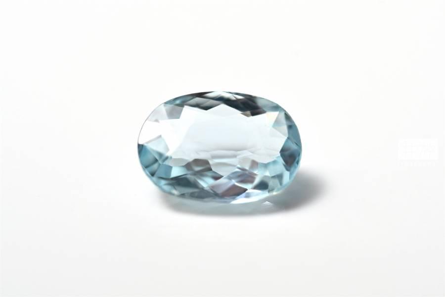 頂級天然海藍寶石裸石 海水藍寶,Aquamarine