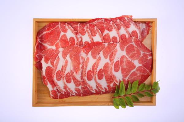 台灣梅花豬肉片