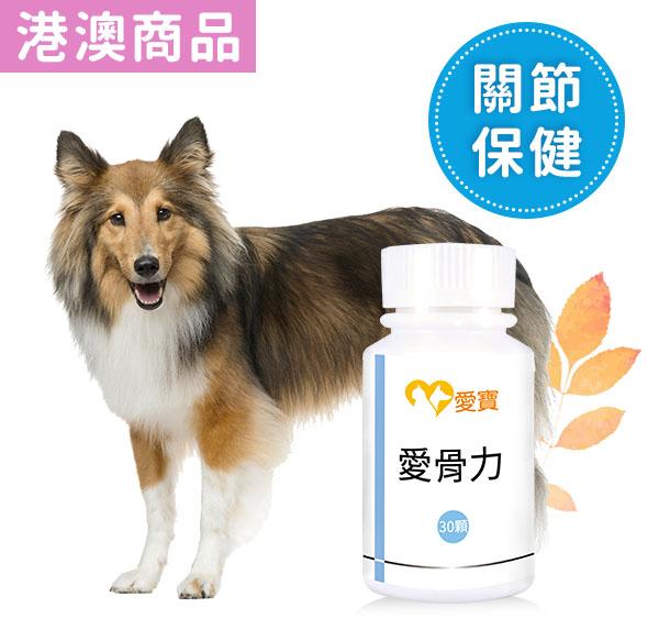 狗狗-愛骨力30顆/瓶 寵物,狗狗,狗關節,狗骨質疏鬆, 狗關節炎