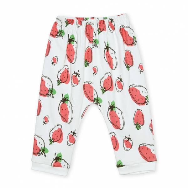 草莓派對  有機棉長褲褲 童裝