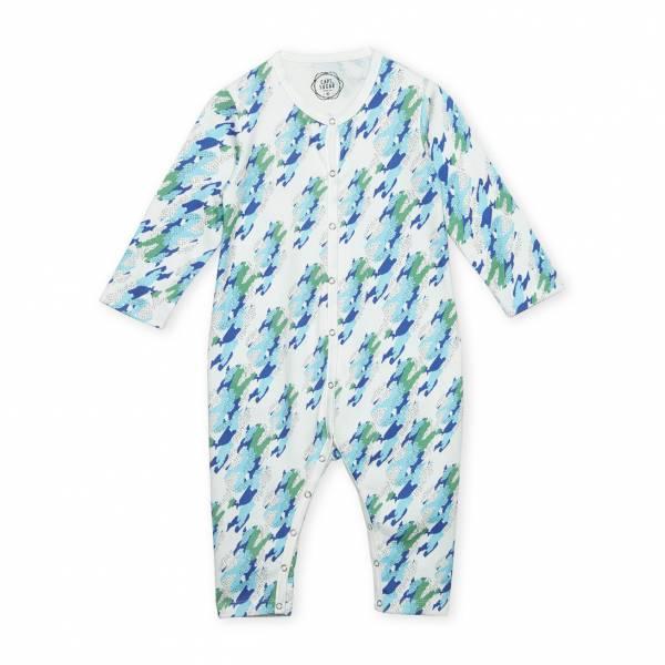 森林與海 有機棉有機棉連身衣