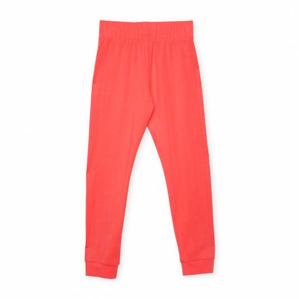 素色內搭褲 橘紅
