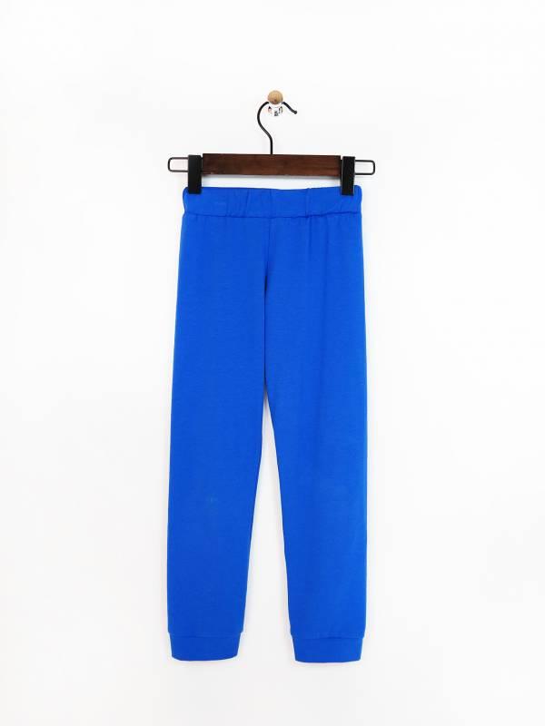 寶石藍內搭彈性棉褲