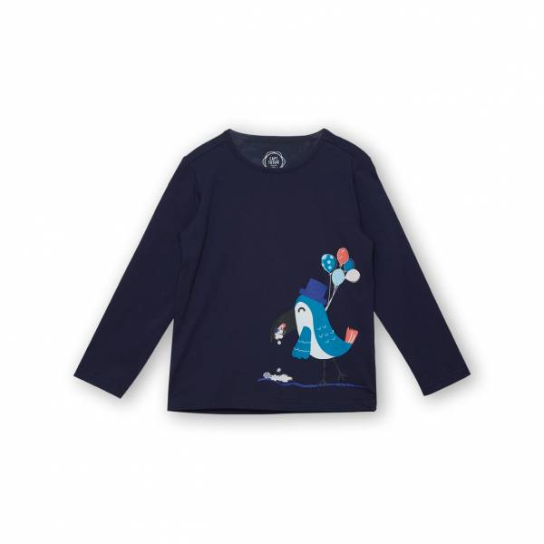 大嘴鳥休閒T恤 藍