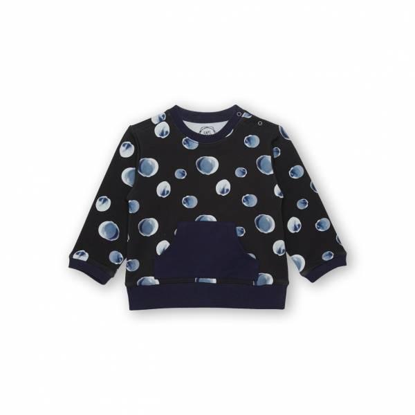 秋之雨嬰童休閒T恤 藍