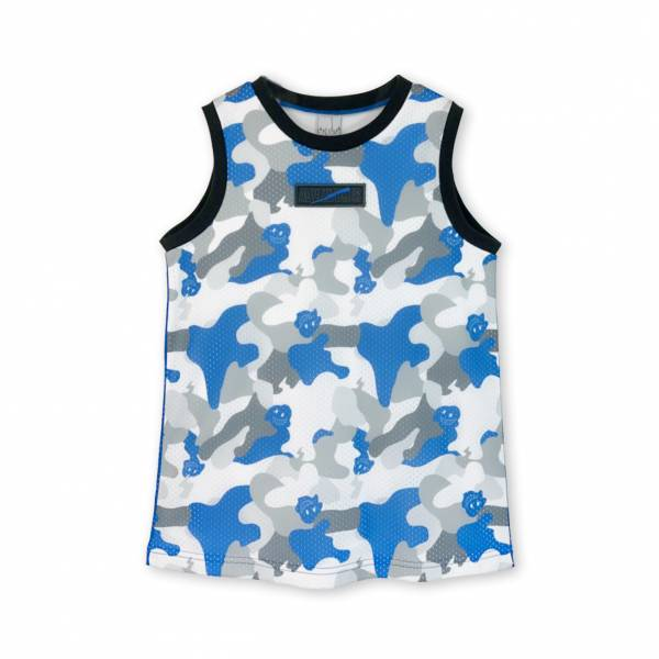 Cool Runner背心 迷彩藍色
