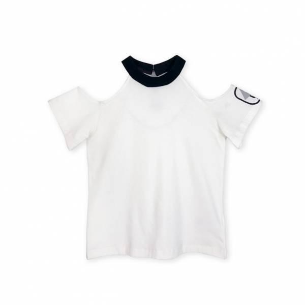 彩色魔法T恤 白色
