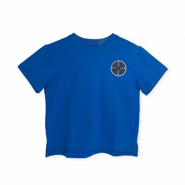小偵查兵T恤 藍色