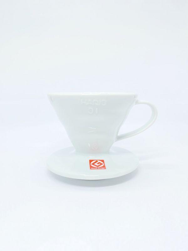 日本 Hario 磁石濾杯 白  V60  V60濾杯,手沖咖啡,精品咖啡,咖啡豆