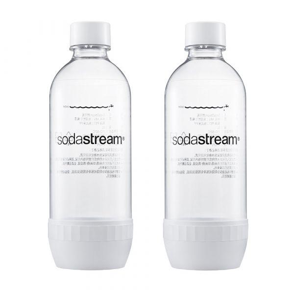 sodastream氣泡水機專用水瓶(白)1000ml 二入