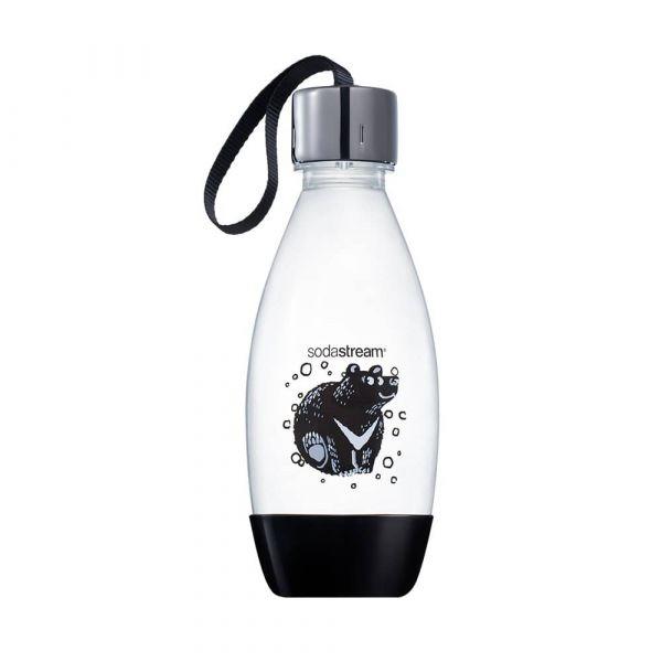 Sodastream台灣限定款|愛台灣動物|好好帶專用水瓶|500ML輕巧瓶-台灣黑熊 Sodastream,台灣限定款,好好帶專用瓶,台灣黑熊