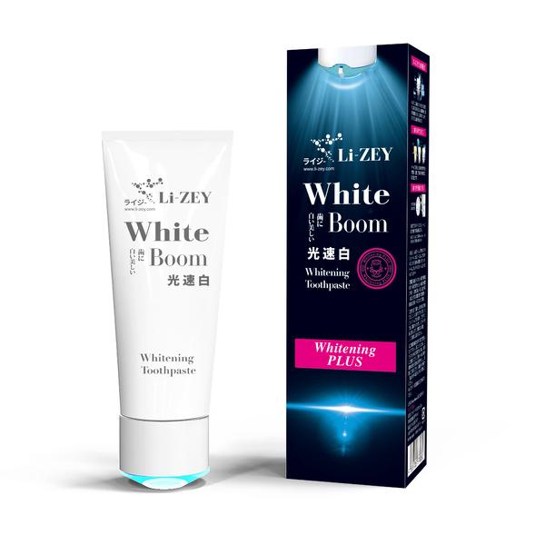 Li-ZEY萊思 藍光 光速白牙膏 -齒白升級系列