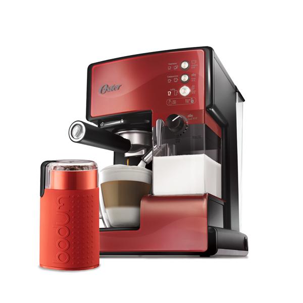 【美國OSTER】奶泡大師義式咖啡機PRO升級版