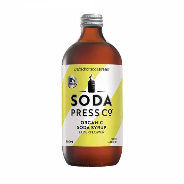 Sodastream Sodapress有機糖漿 接骨木風味糖漿500ML  Sandy吳姍儒推薦 以色列原裝原廠公司貨 糖漿特色: 健康有機低熱量的的好口感,新鮮氣泡的絕配滋味。 產品特色: 全素、有機認證、天然成分、低糖、無麩質、無基因改造原料、不含甜菊葉代糖。 經濟 每瓶糖漿可調製16杯 200ml
