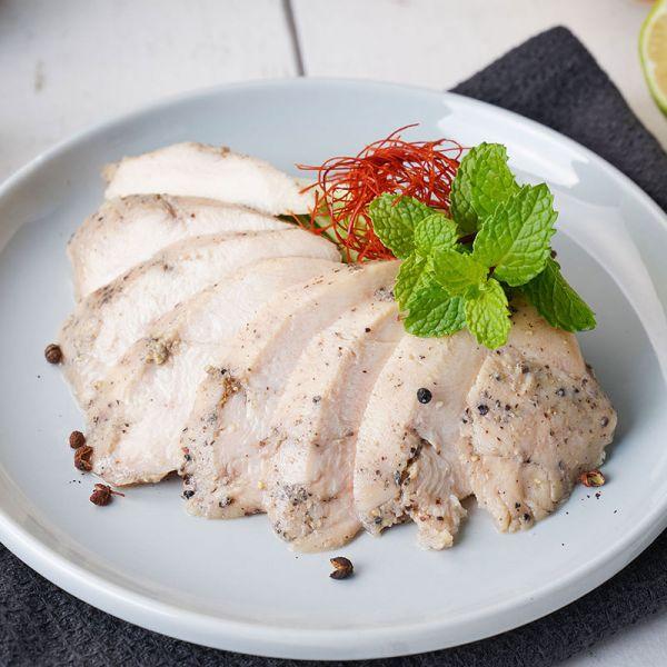 舒肥水嫩雞胸隨手即食包(100g/包)鐵板胡椒 舒肥雞胸,雞胸,舒肥,健身餐,減肥餐,健身,減肥