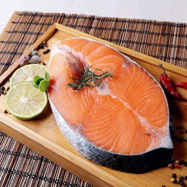 智利鮮嫩鮭魚厚切片350g