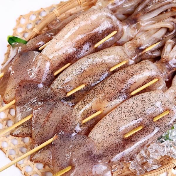 阿根廷魷魚串燒2尾入
