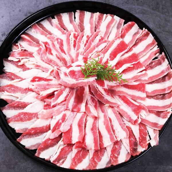 美國牛五花火鍋肉片 松阪豬,冷凍豬肉,冷凍肉,豬肉宅配