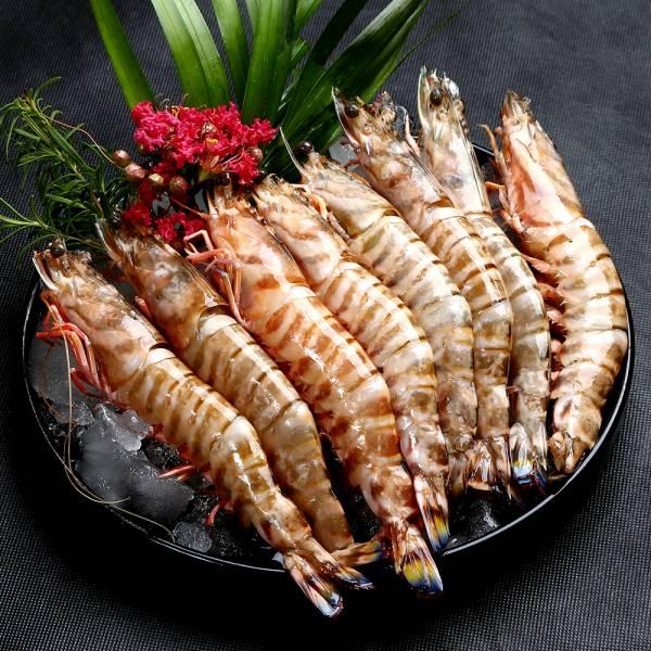 澎湖野生大明蝦8尾入 大明蝦,冷凍蝦,宅配蝦,宅配海鮮,明蝦,無刺海鮮
