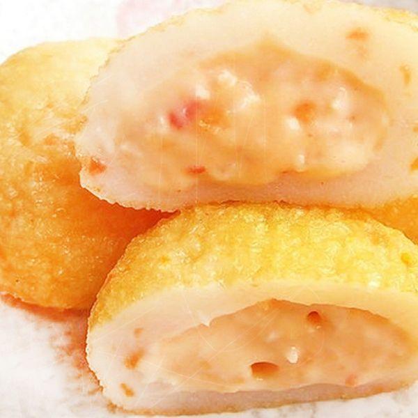 日式爆漿龍蝦沙拉球10顆入 魚丸,火鍋料,包餡魚丸,貢丸,丸子,火鍋食材