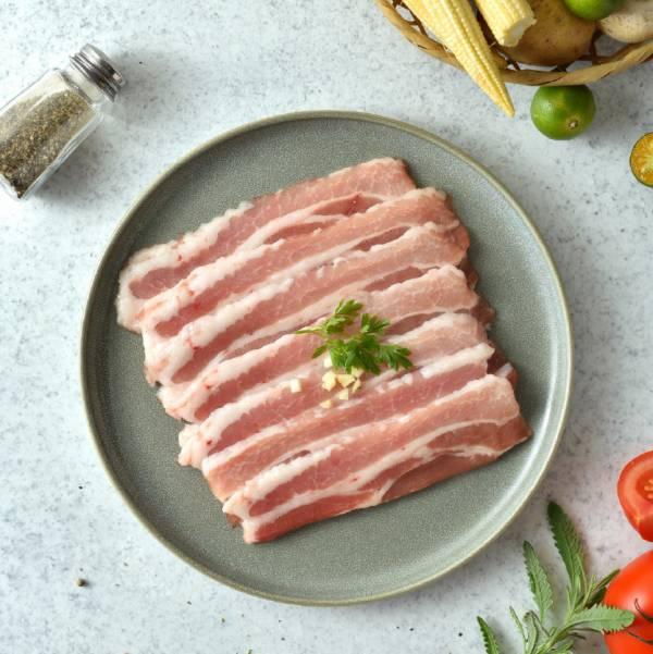 豬五花肉片 豬五花,五花肉,肉片,燒烤
