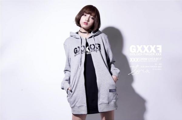 GXXXF 基本款LOGO長版帽拉 ( 灰色 ) 限時,上衣,外套,折扣,長版,潮牌