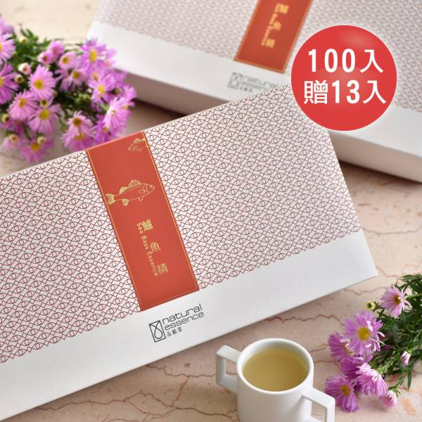 鱸魚精 5盒分享組 (100入再加送13包)