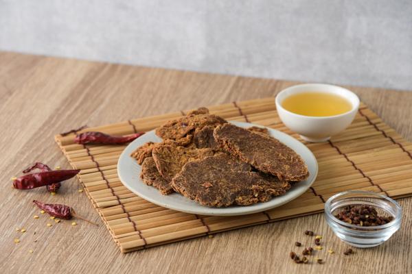 麻辣豬肉片-160g袋裝 麻辣豬肉乾