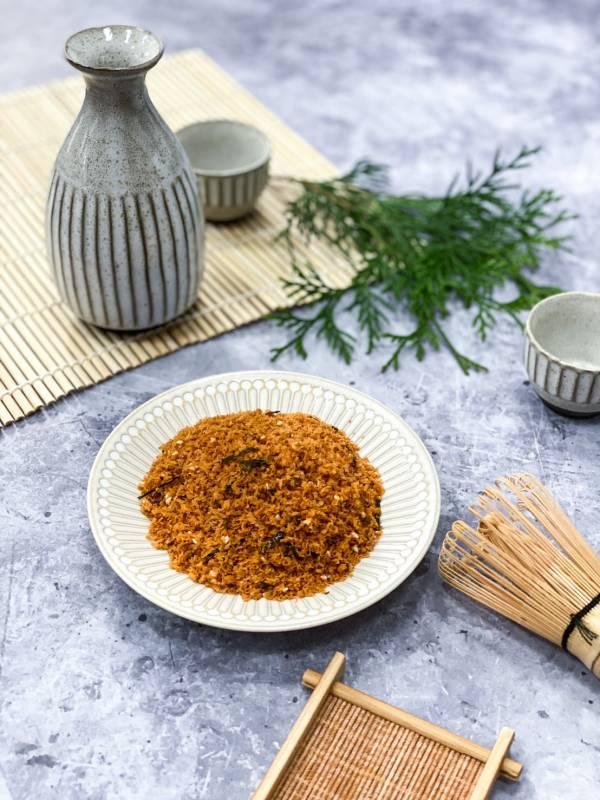 (素食)海苔芝麻素肉鬆600g 海苔芝麻素肉鬆