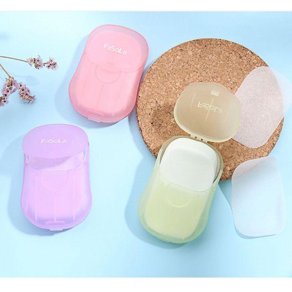 現貨 植物萃取 攜帶型香皂紙片-共兩款 攜帶型香皂紙片,洗手紙