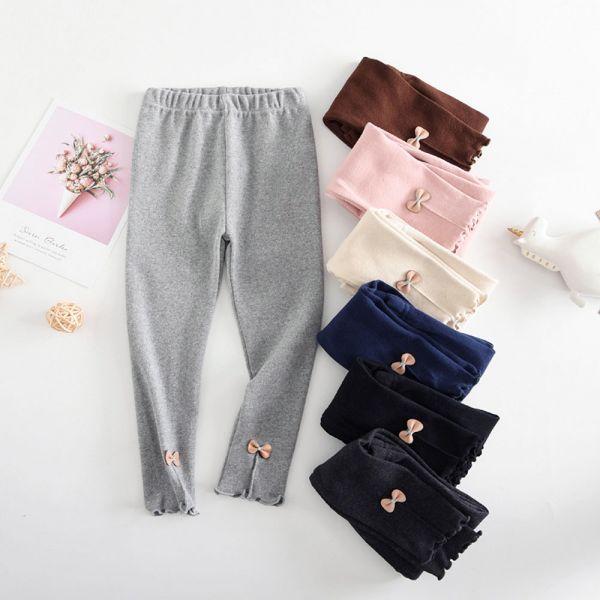 現貨 蝴蝶結褲管內搭褲-粉色 蝴蝶結內搭褲,女童內搭褲